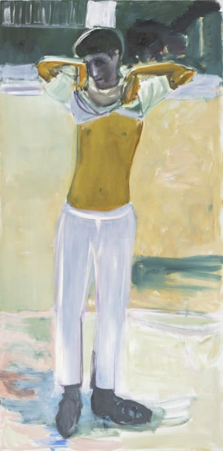 No Belt by Marlene Dumas