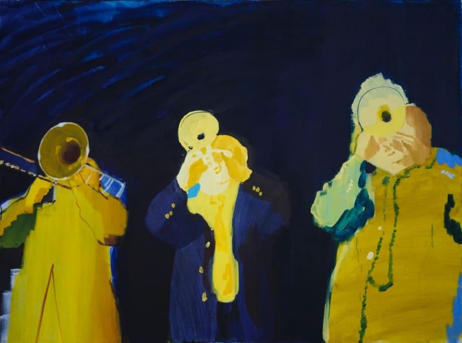 The Horn Players by Wang Xiaoqu