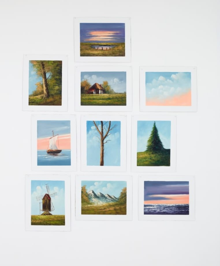 Ten Model Paintings by Jef GEYS
