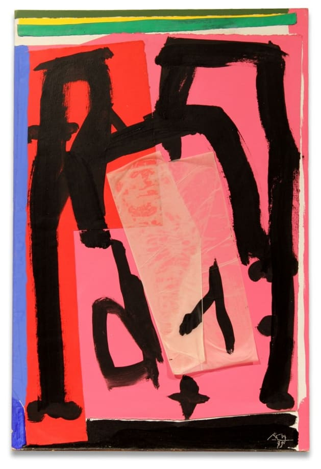Mexican Collage by Robert Motherwell