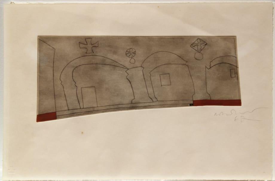 Long Horizontal Patmos by Ben Nicholson