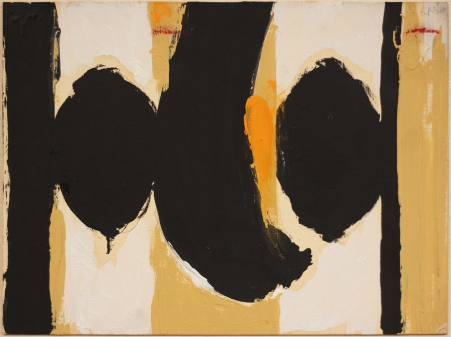 Elegy to the Spanish Republic No. 60 by Robert Motherwell