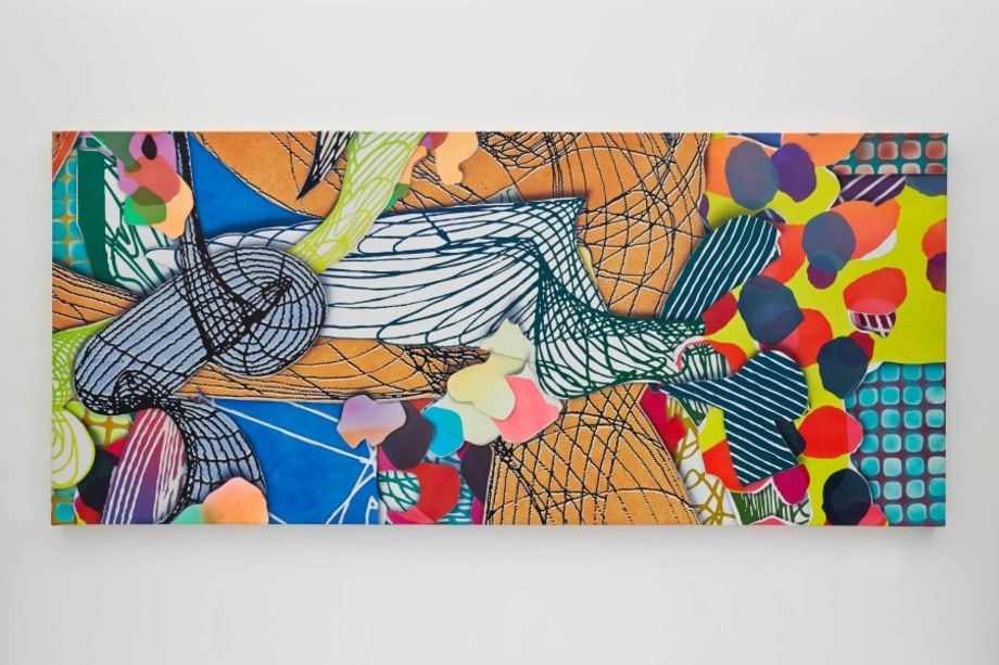 Study for Princess of Wales Theater, Toronto, III by Frank Stella