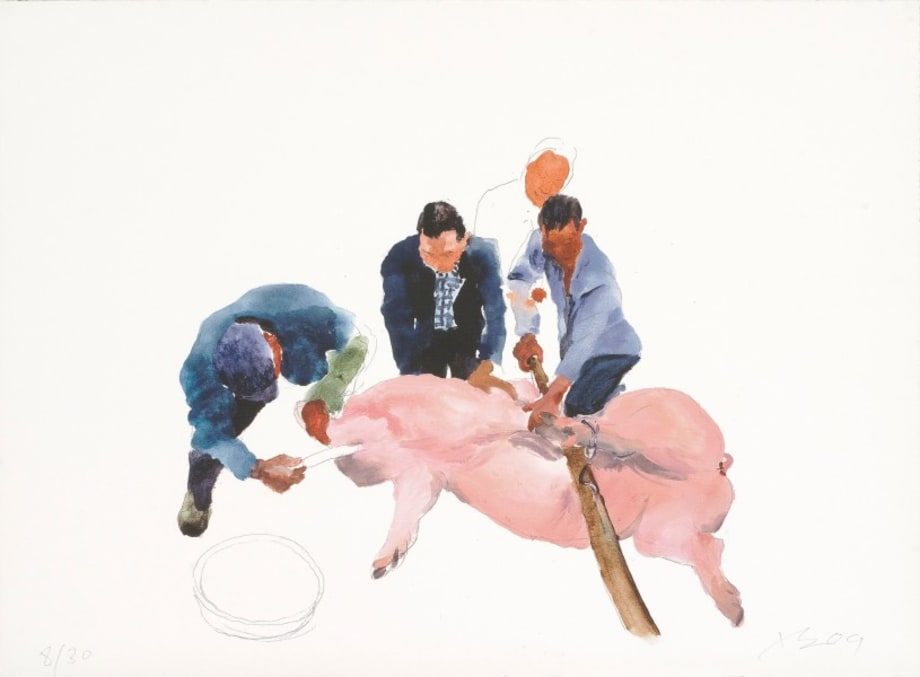 First Cut by Liu Xiaodong