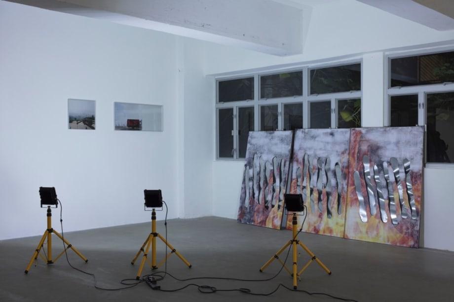 Freerider Backdrop I, 浪跡者的佈景板 I by Ocean LEUNG