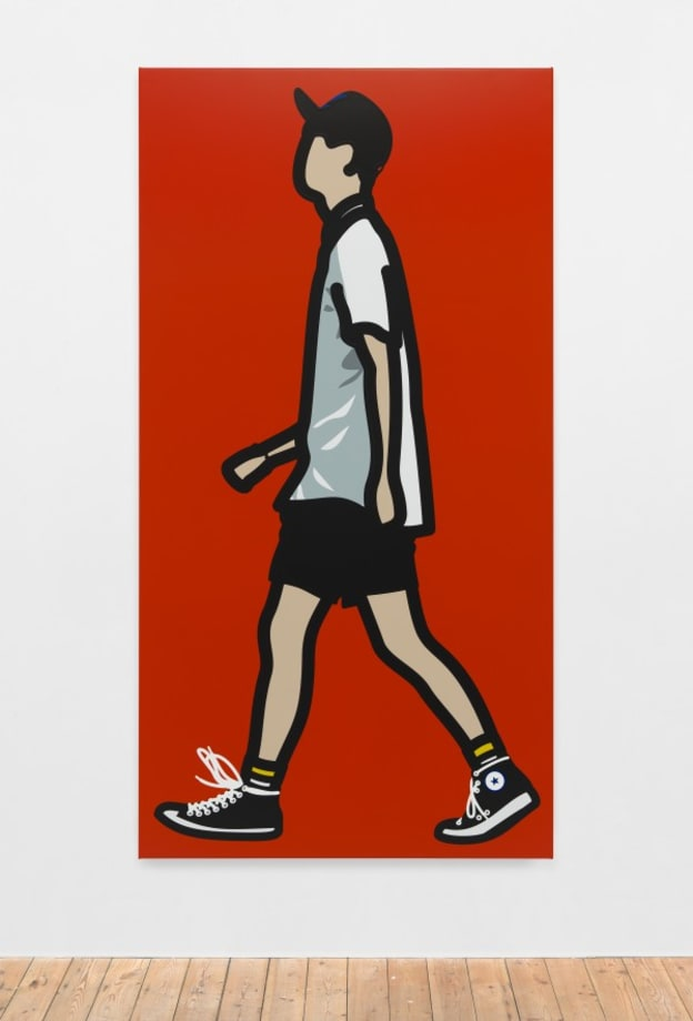 Converse boy. by Julian Opie
