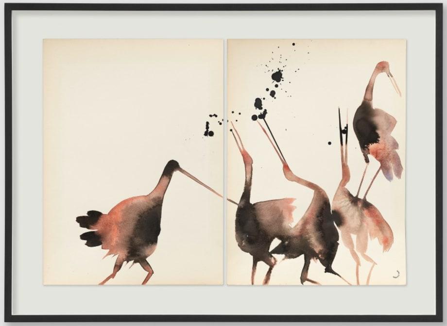 Untitled (birds) by Dirk Stewen
