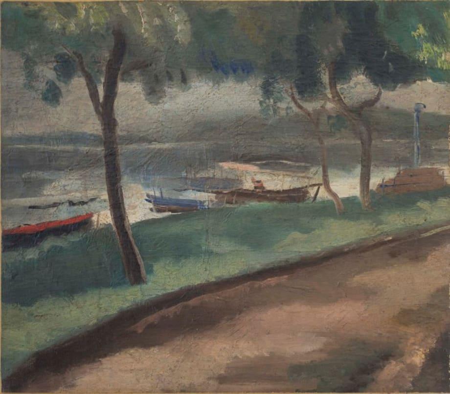 A Night Mooring by Guan Liang