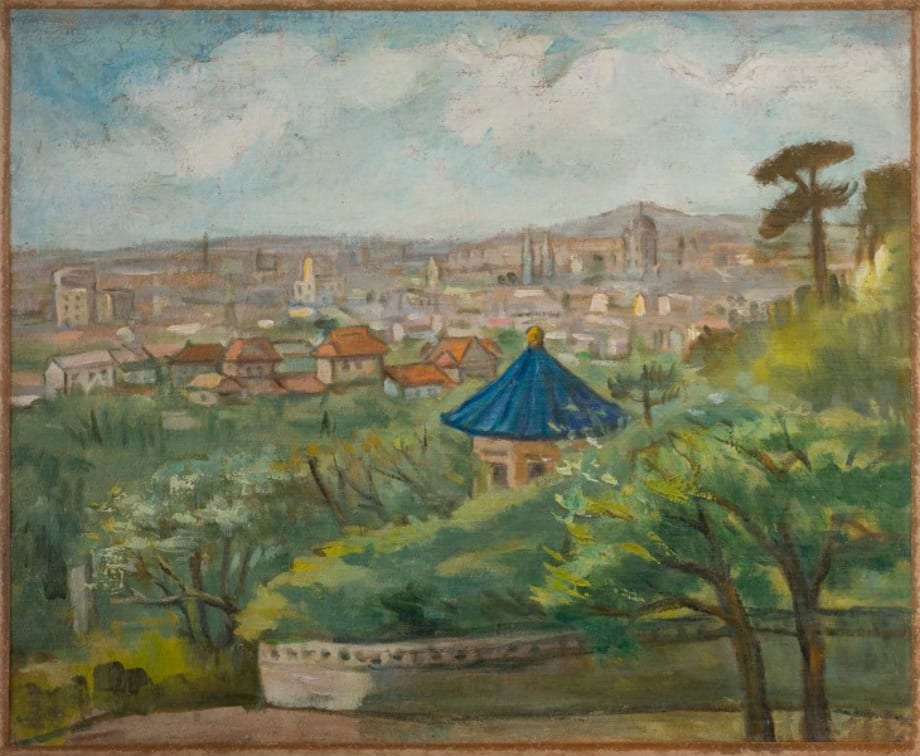 Beijing Suburbs (View Around the Pavilion) by Guan Liang