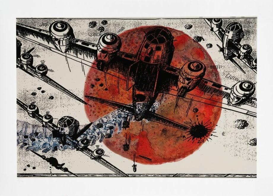 Games of War by Nalini Malani