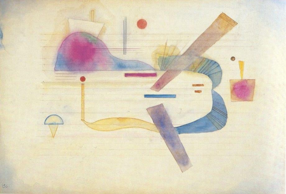 Annäherung by Wassily Kandinsky