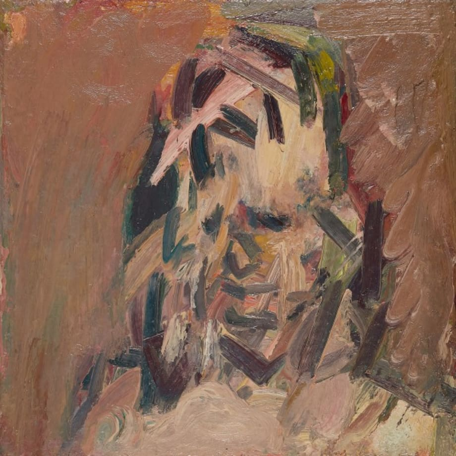 Head of Catherine Lampert by Frank Auerbach