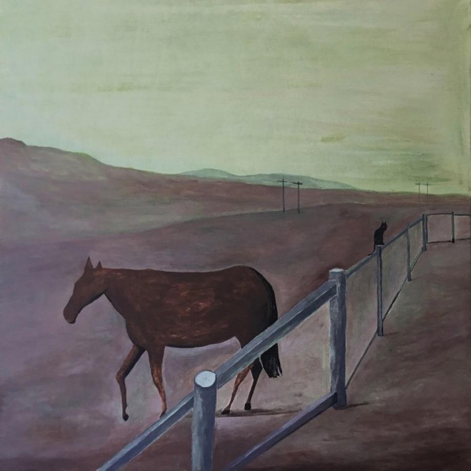 Horse, Cat by Noel McKenna