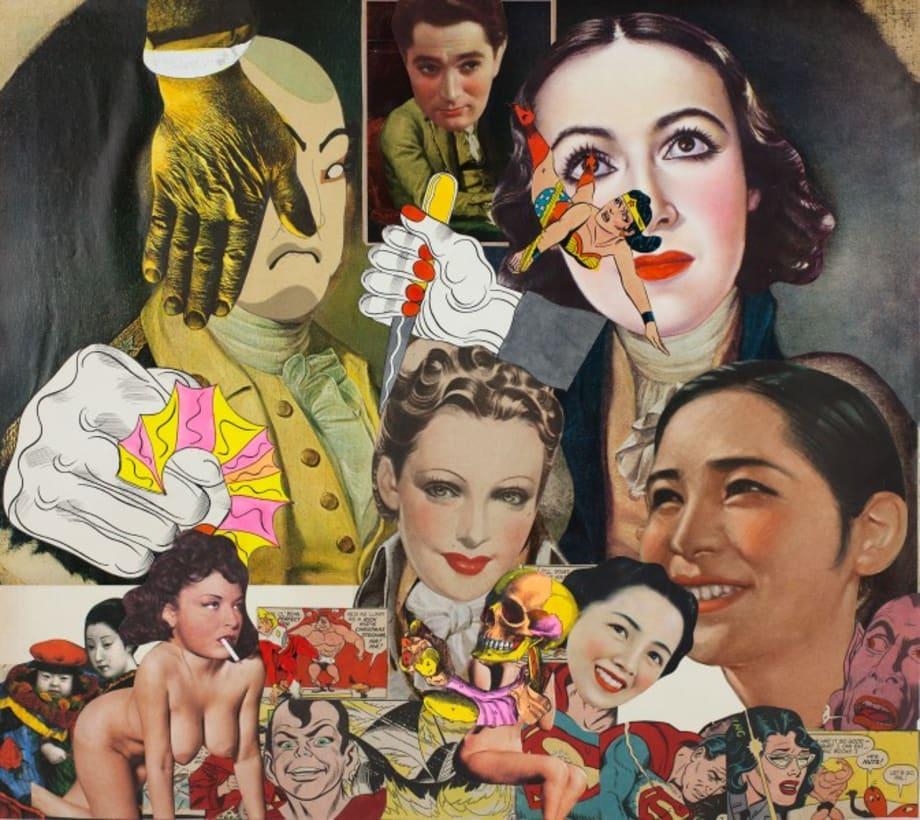 Collage Book9_02(1969-1975) by Keiichi Tanaami