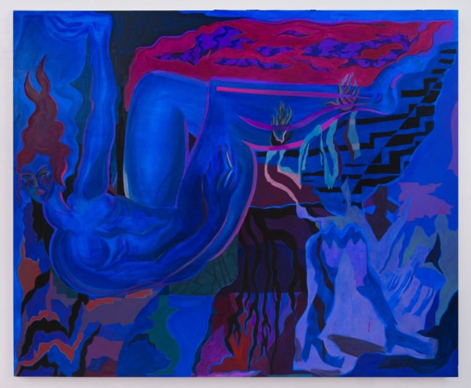 Blue Exile by Mira Dancy
