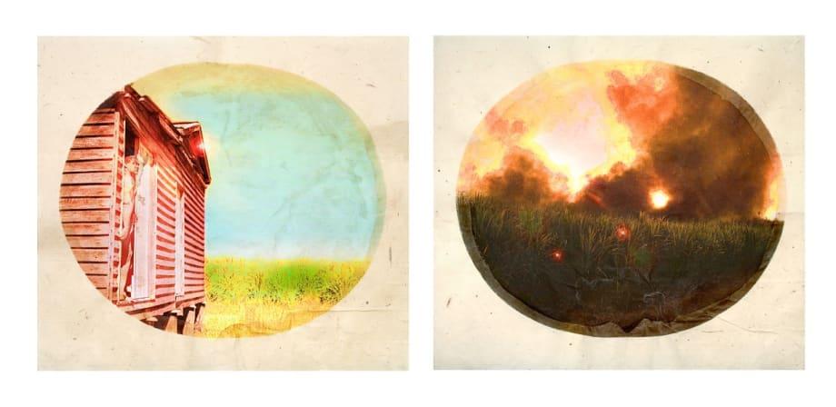 Plantation (Diptych No. 2) by Tracey Moffatt