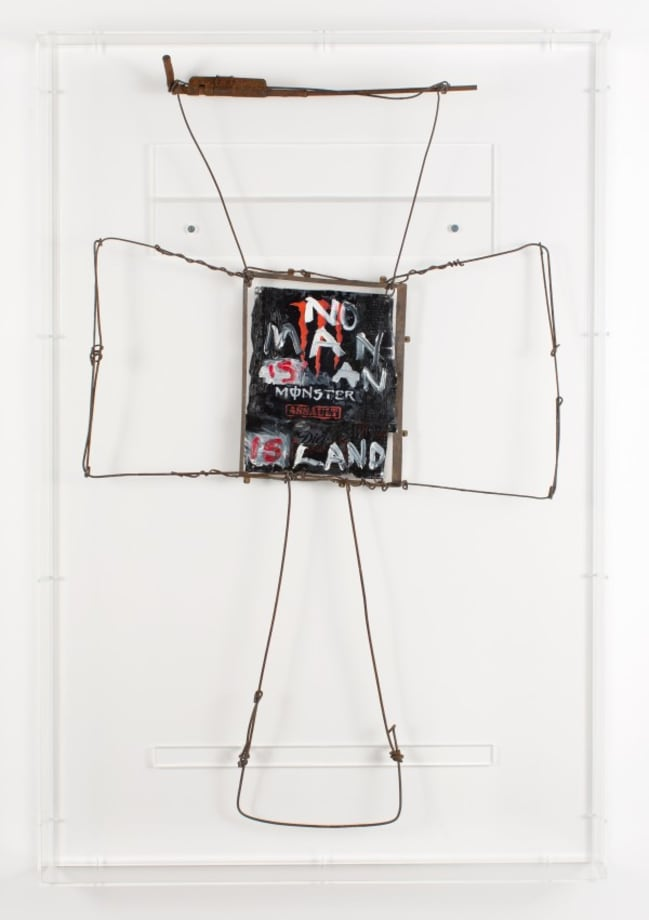 No Man IS an ISland by Fiona Hall