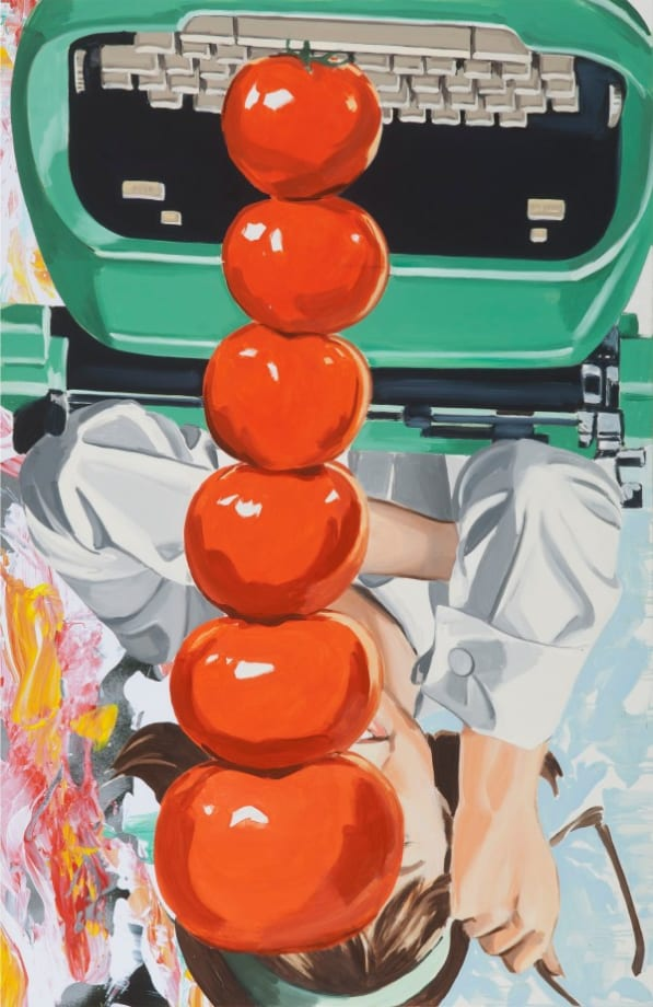 Typing, Thinking by David Salle