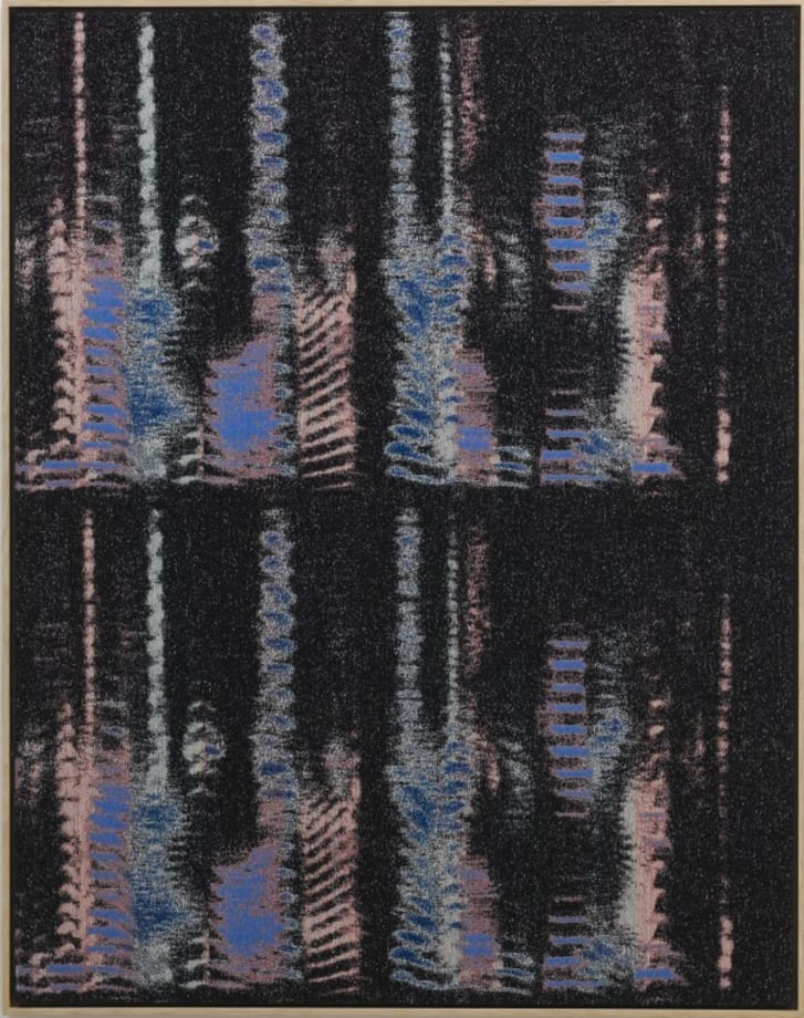 Negative Entropy (Kazue Kobata, Blue, double) by Mika Tajima