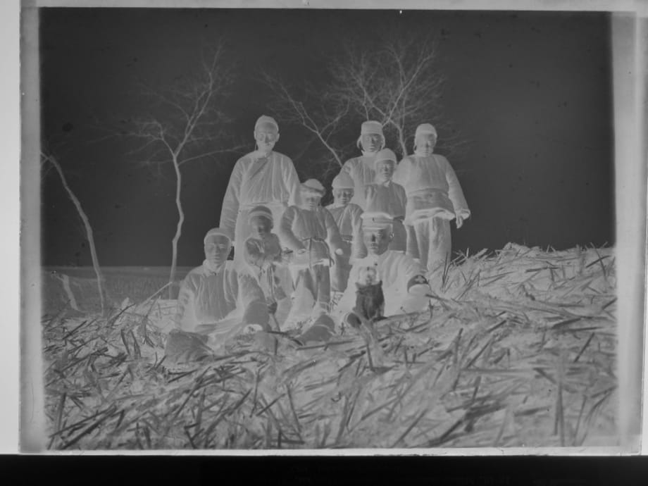 The Encounter Between Gas Mask and Squad Six-Five-Nine in Front of the Lightbox by Kao Chung-Li