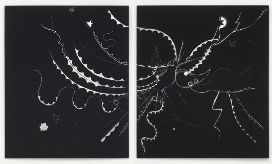 Bird Through Lightning, Cut in Two by Sung Hwan Kim