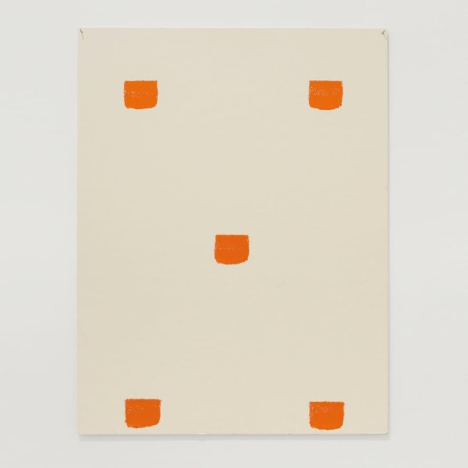 Impronte di pennello n.50 a intervalli di 30 by Niele Toroni