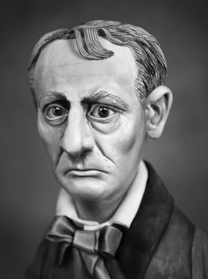 Charles Baudelaire by Mary Reid Kelley
