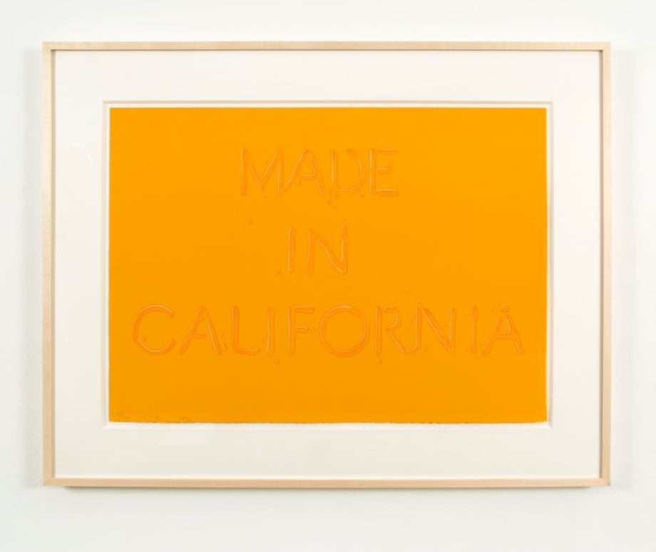 Made in California by Ed Ruscha