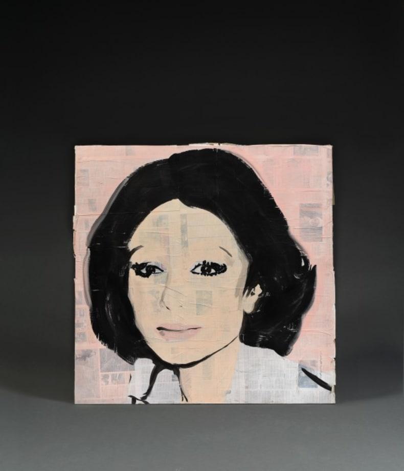 Ever Since Night Falls (Empress of Iran, Andy Warhol, 1976) by Alvaro Urbano