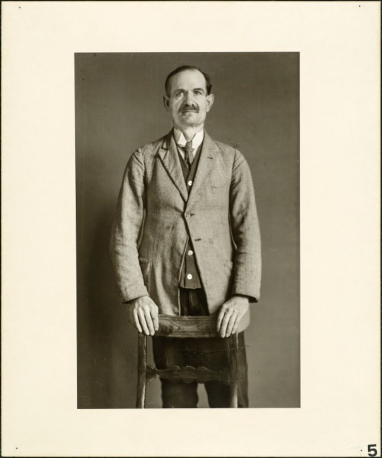 Chairman of a splinter party, 1931 by August Sander