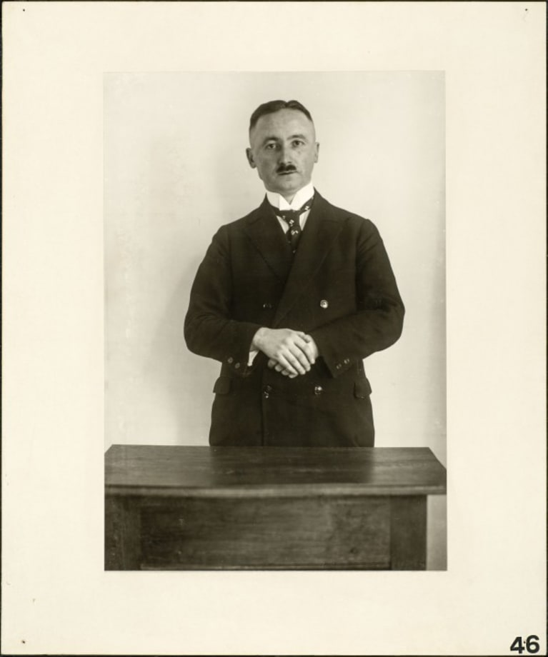 Professor, 1925 by August Sander