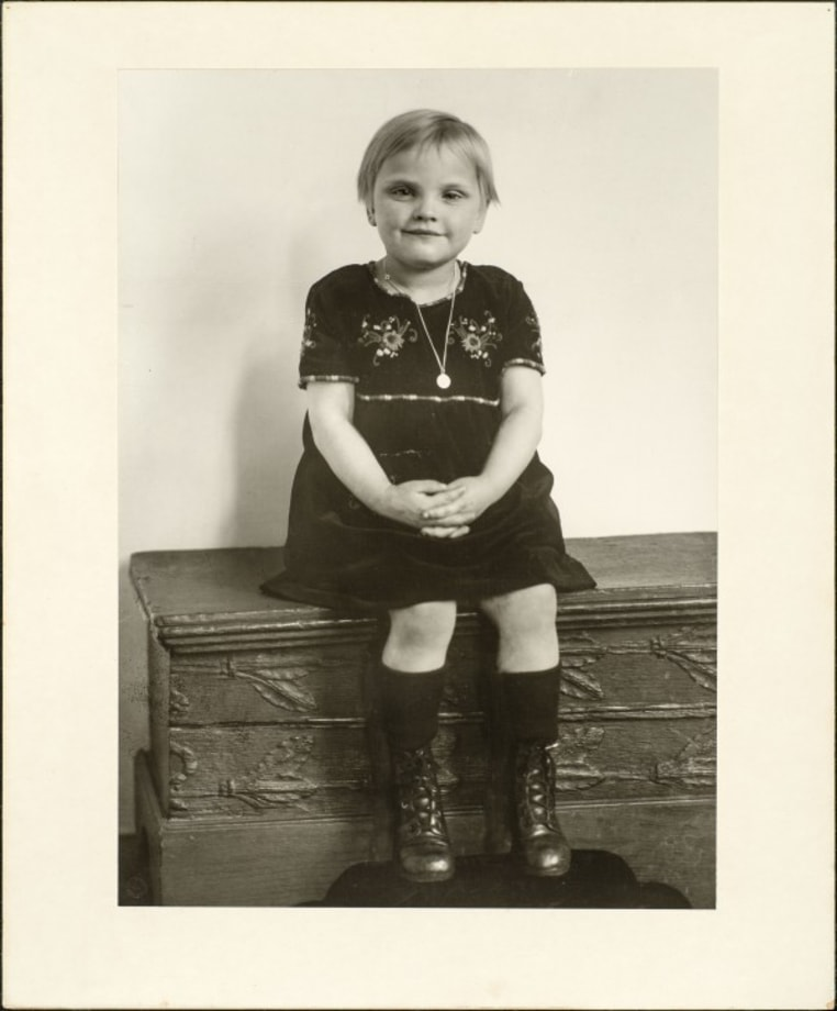 Middle class child, 1926 by August Sander