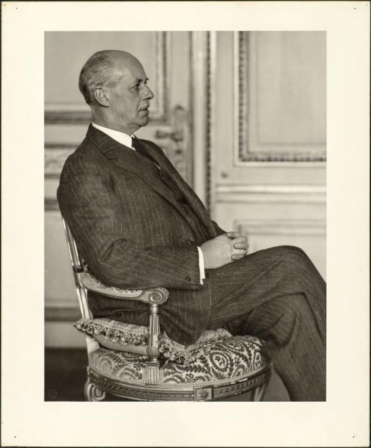 Industrialist (Arnold von Guilleaume), 1928 by August Sander