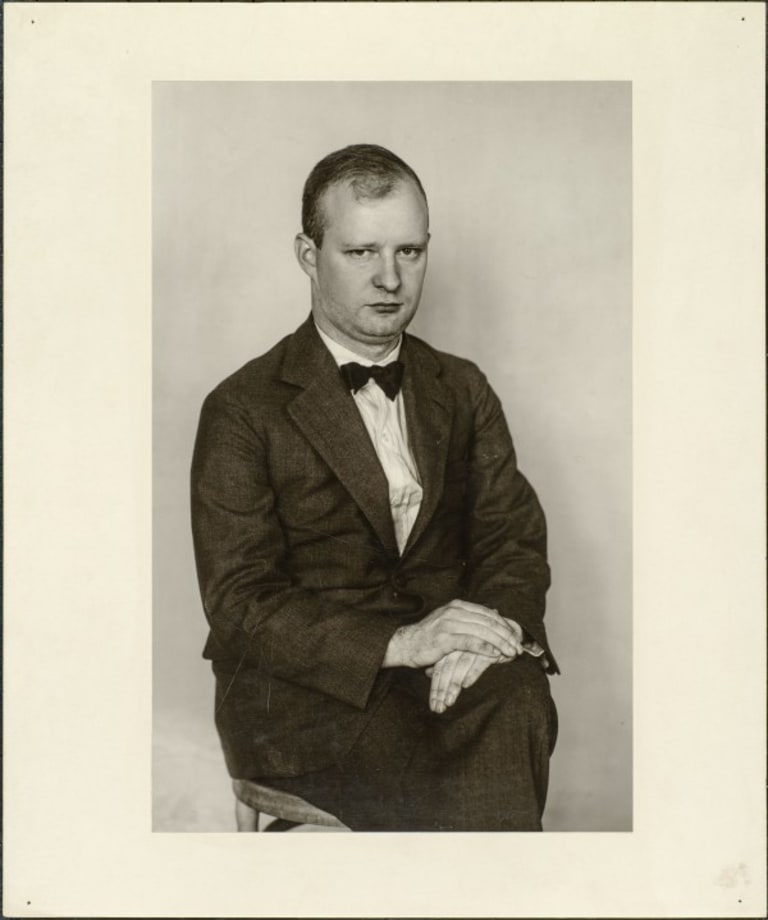 The composer (Paul Hindemith), 1925 by August Sander