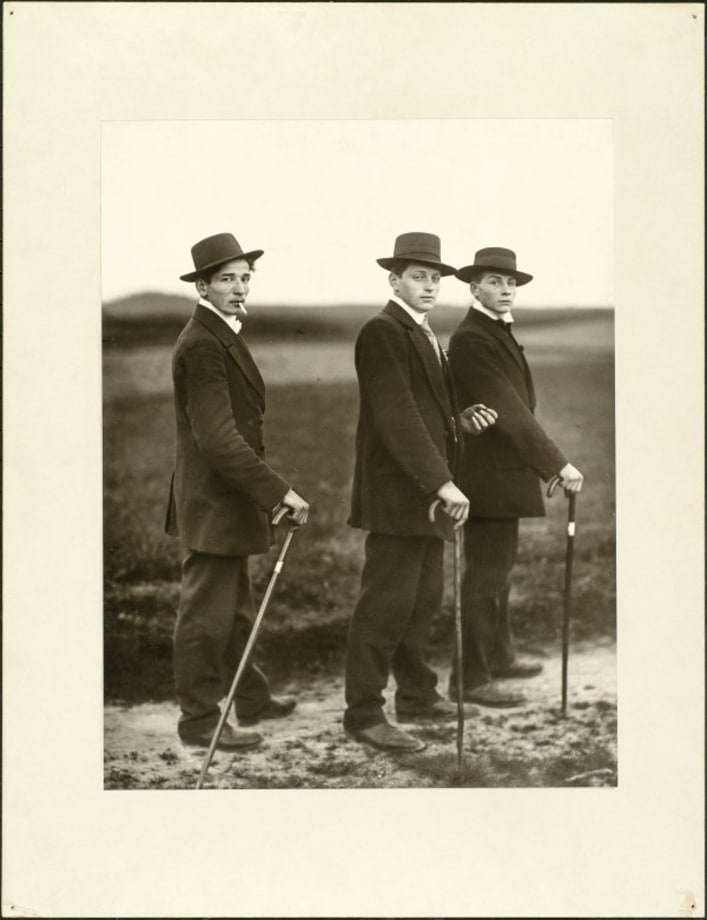 Young farmers, 1914 by August Sander
