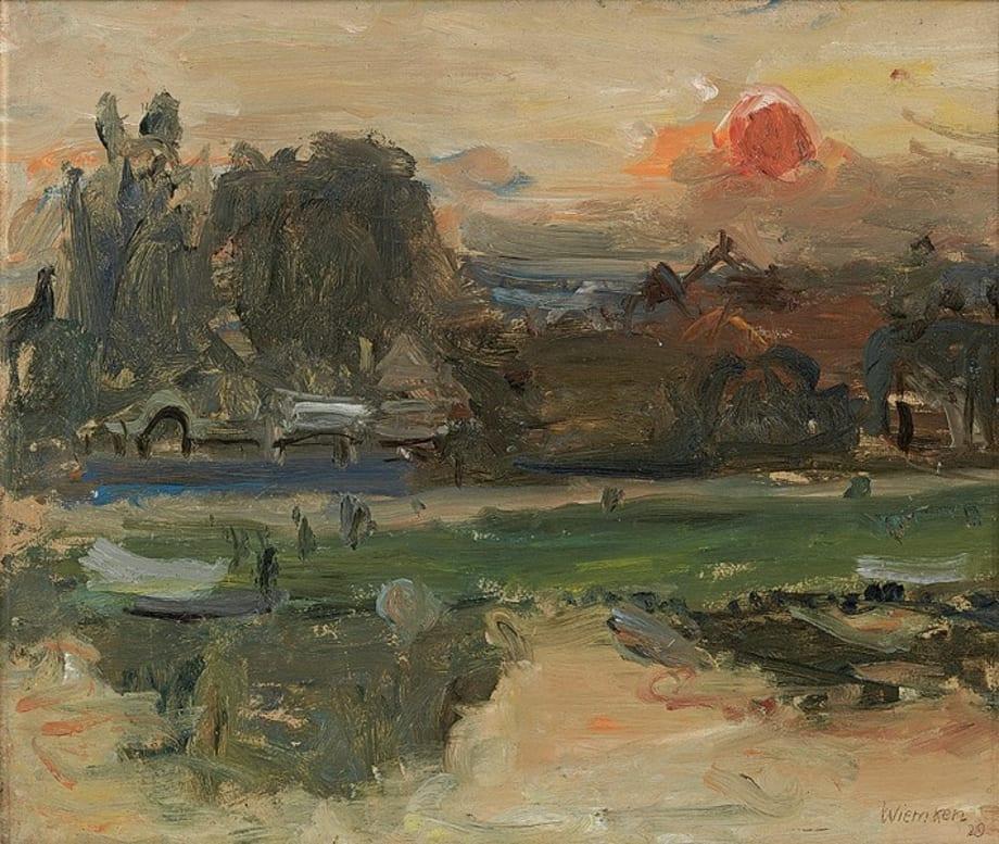 Abend an der Seine by Walter Kurt Wiemken
