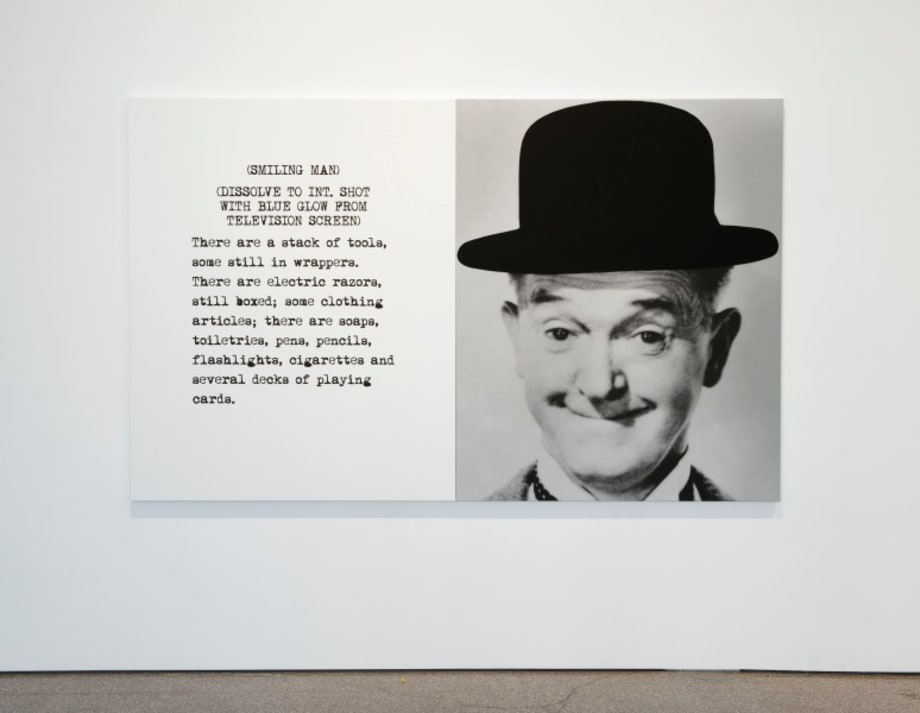 Scene ( ) / Take ( ) : Bowler Hat by John Baldessari
