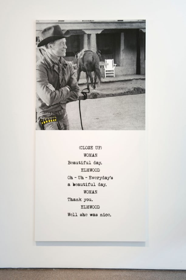 Scene (  ) / Take ( ) : Cowboy by John Baldessari