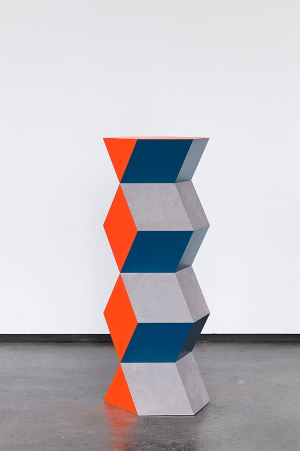 Endless Column Orange by Angela Bulloch