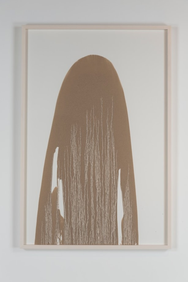 Untitled (Mud Drawing) by Richard Long
