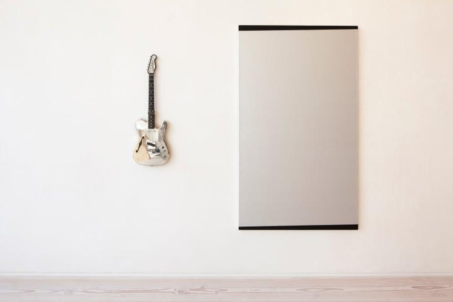 Guitar piece by John M. Armleder