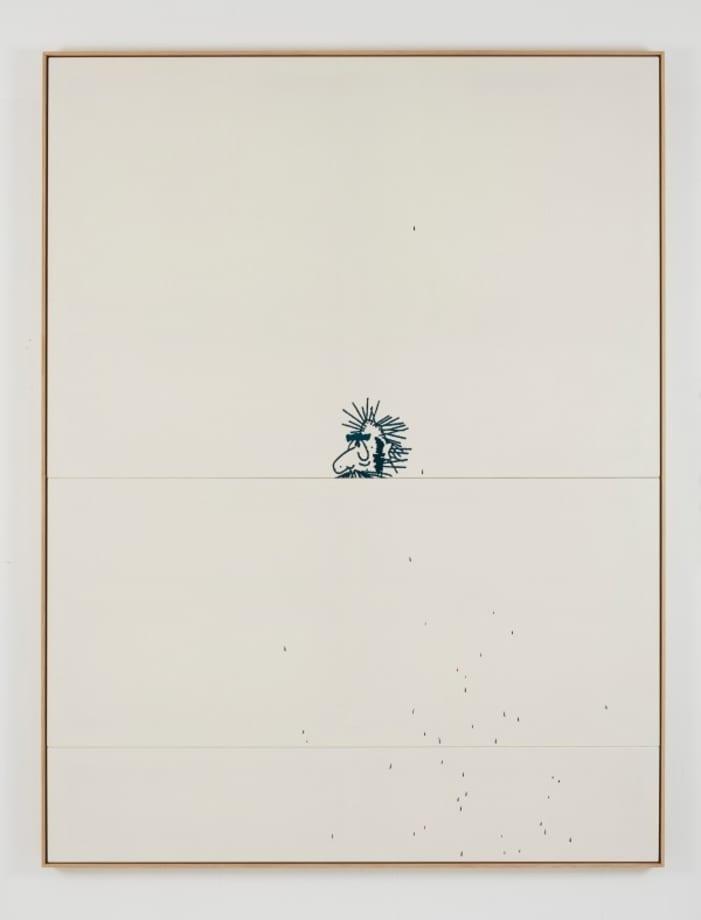 Untitled (<) by Oliver Osborne