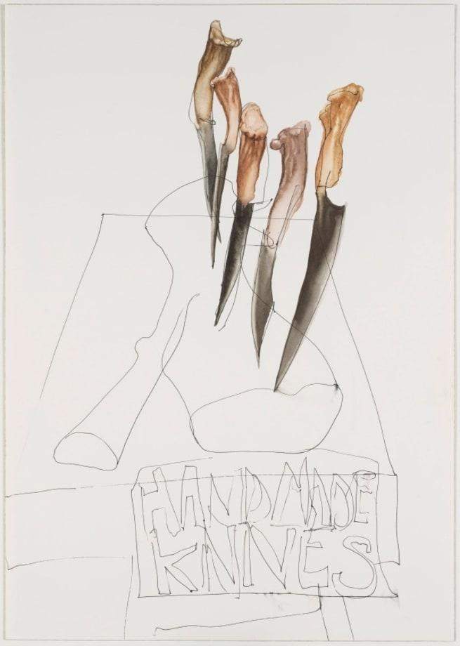 Untitled (Handmade Knives) by Jennifer Pastor