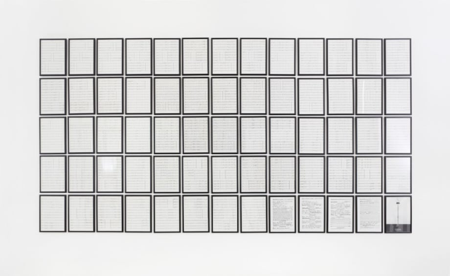 Opus 26 by Hanne Darboven