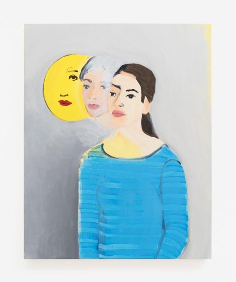 Double Portrait (Moon) by Becky Kolsrud