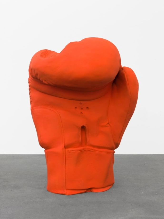 Boxhandschuh by Erwin Wurm