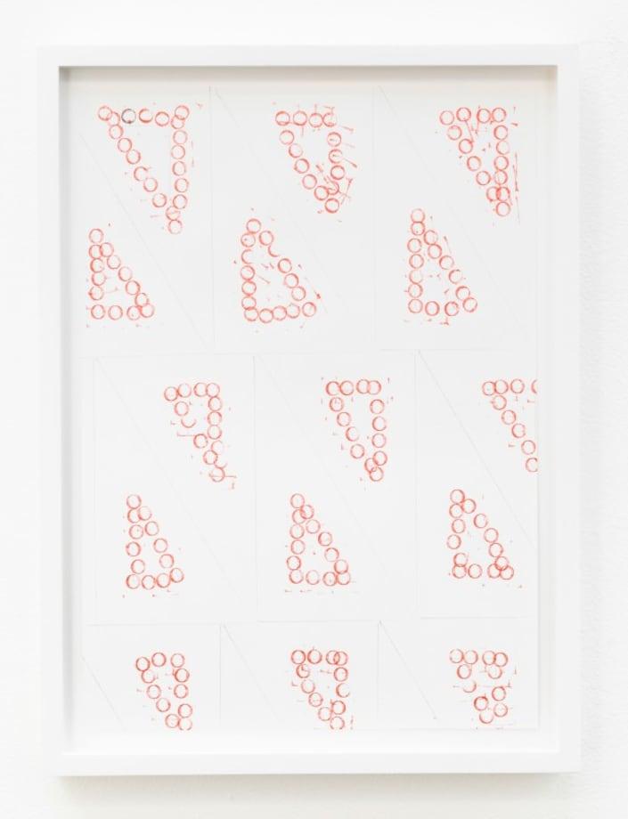 Joy in Paperwork 46 (al papeleo, alegria) by Amalia Pica
