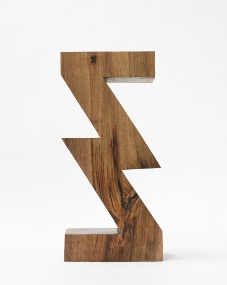 Sculpture Object 43: ZigZag Division by Claudia Comte