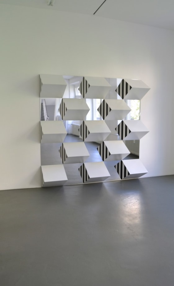 Polychrome High Relief by Daniel Buren