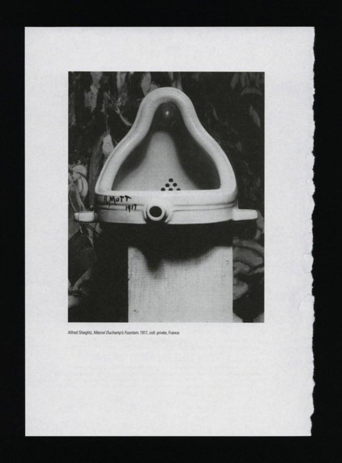 The Fountain Archives - FA 0612 B by Saâdane Afif